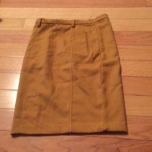 Skirts - a long mustard color skirt